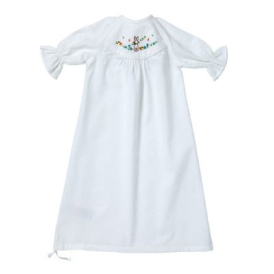 Spring bunny baby nightie