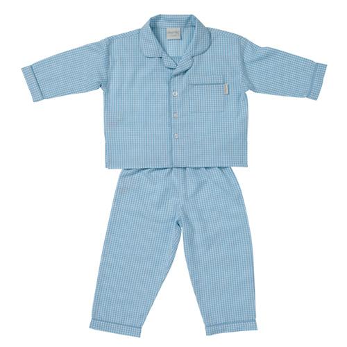 Blue Gingham PJ's